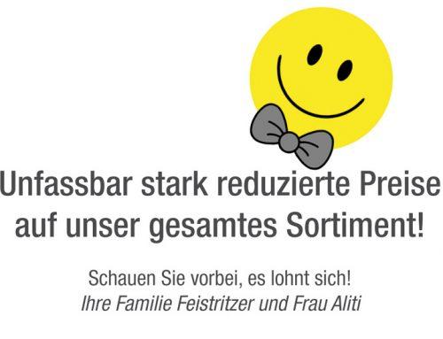 Herrenmoden Feistritzer MINUS 60% AUF ALLES!