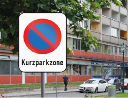 Kurzparken beim Stadlauer Park am Bahnhof