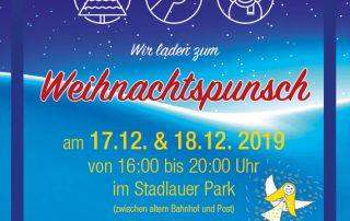 Stadlauer Punscheinladung 2019